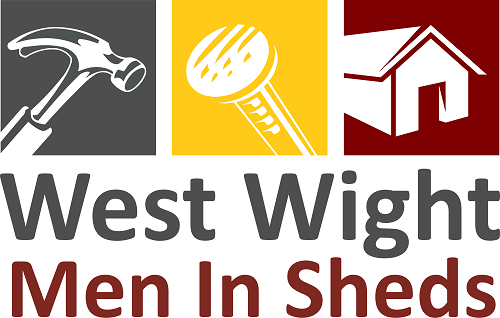 west wight men in sheds logo